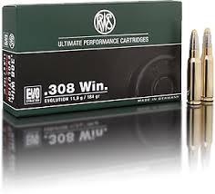 308 Win. RWS Evolution 11,9 g
