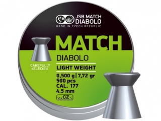 Diabolo JSB MATCH  - ráže 4,5mm