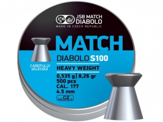 Diabolo JSB MATCH S100 - ráže 4,5mm