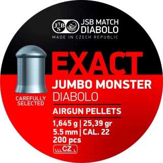 Diabolo JSB JUMBO EXACT MONSTER- ráže 5,52mm