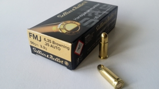 6,35 mm BROWNING / 25 AUTO FMJ (50)